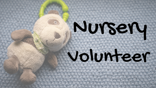 Calvary Heights Nursery Volunteer Form