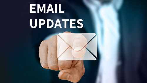 Calvary Heights Email Updates Form