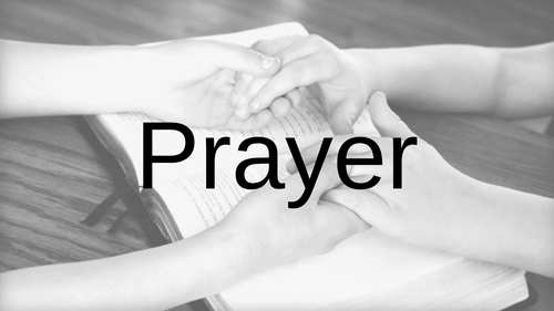 We will pray for you! Prayer Request Form.