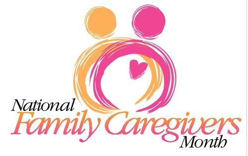 National Family Caregiver Month Logo
