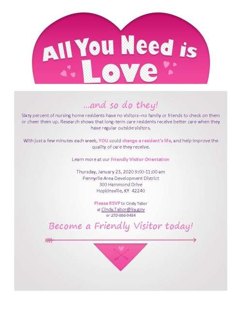 Friendly Visitor Flyer