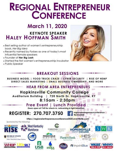 Regional Entrepreneur Conference Flyer