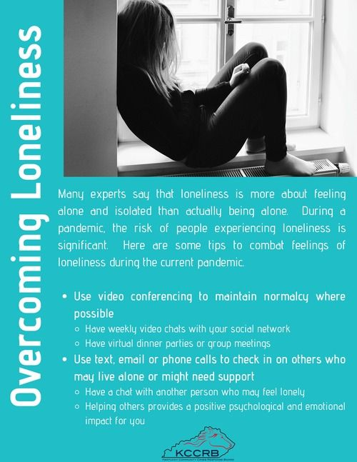 Overcoming Loneliness Flyer Side 1