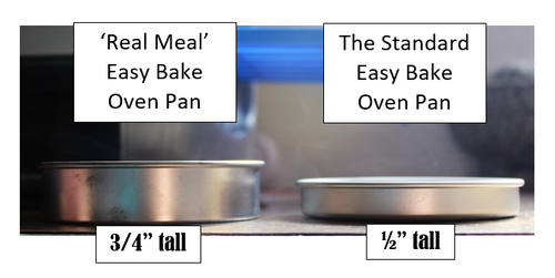 2004 Easy Bake Real Meal Oven pans and pusher