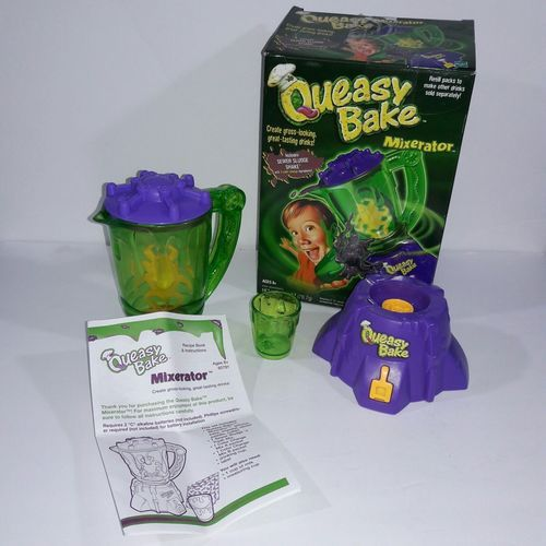 2002 Hasbro Queasy Bake Mixerator Blender