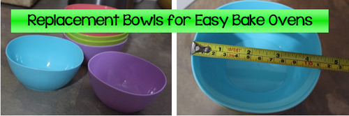replacement bowls for easy bake ovens