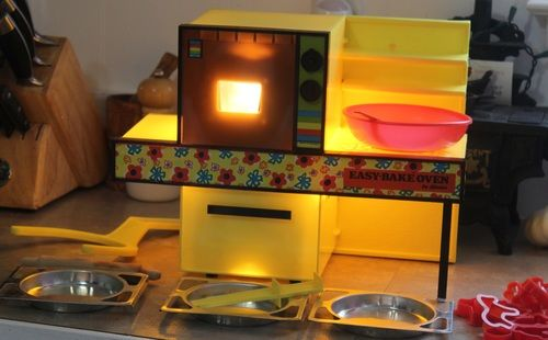 1971 Kenner Easy Bake Oven Sunshine Yellow