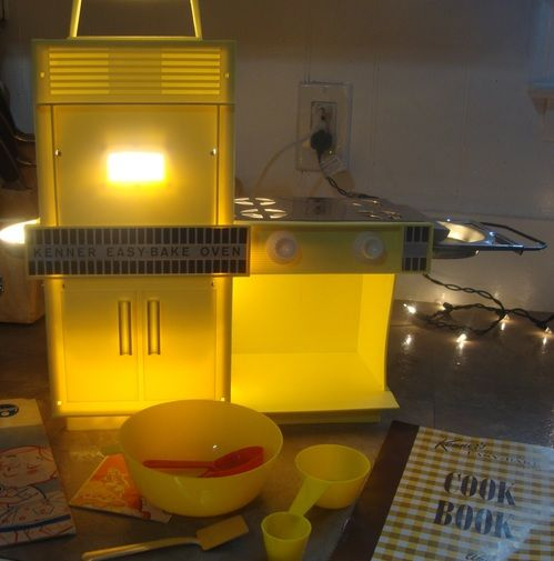 1964 Kenner Easy Bake Oven Yellow #1600