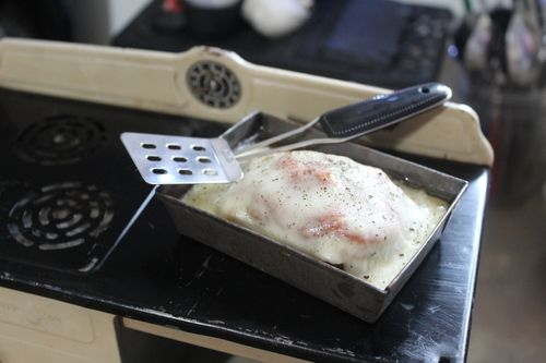 Chicken Parmesan made on Kingston Toy Oven