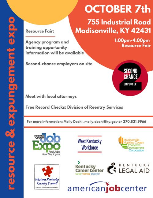 Resource & Expungement Expo Flyer