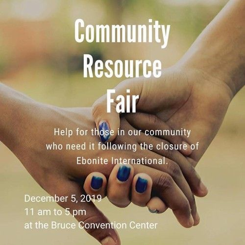 Community Resource Fair Flyer