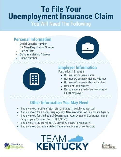 Filing Unemployment Insurance Flyer