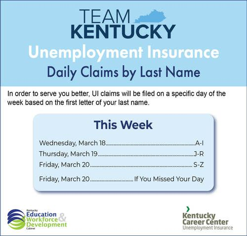 Daily Claims by Last Name Flyer
