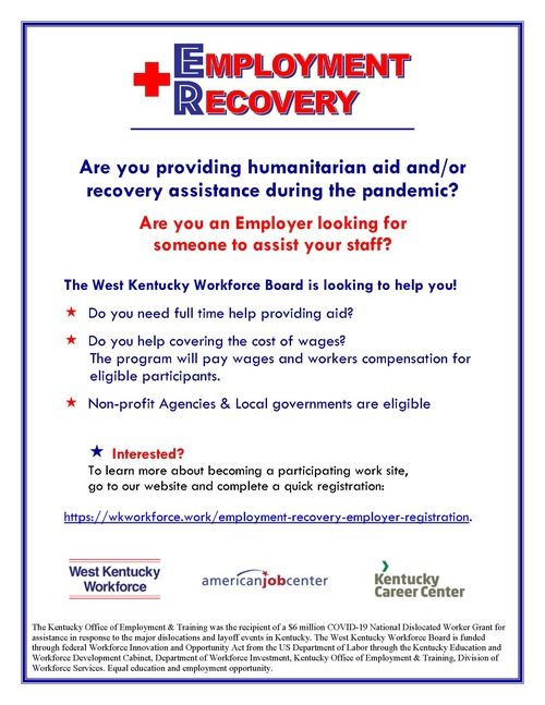 ER - COVID Work Experience