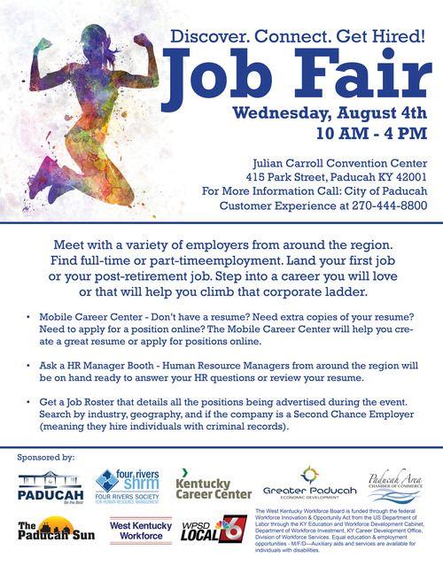 Paducah Job Fair Flyer
