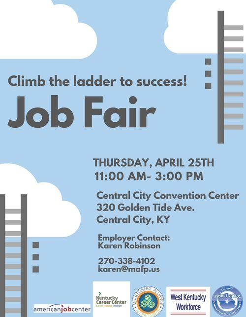 Muhlenberg County Job Fair Flyer