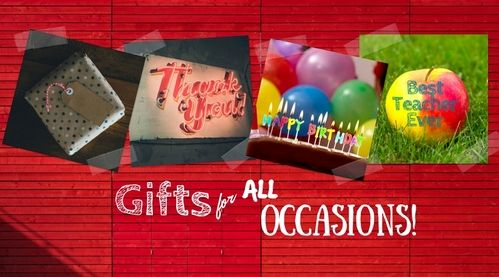 Gifts for all occasions!