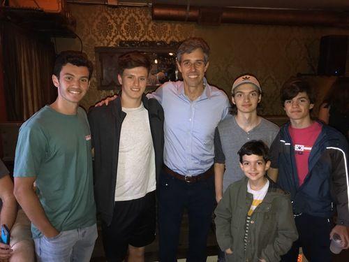 My boys with Beto