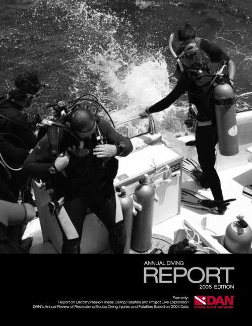 annual-diving-report-2006