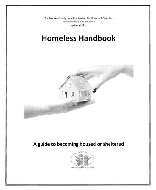 homeless handbook - call 305-440-2315 today for more information and resources