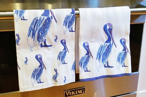 pelican tea towels