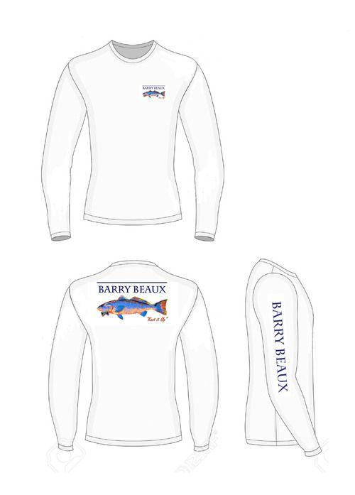 spottail dri fit fishing shirt