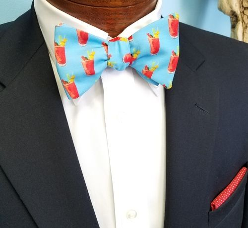 bloody mary bow tie