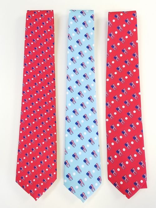 dental themed neckties