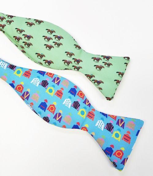 horse racing bow ties