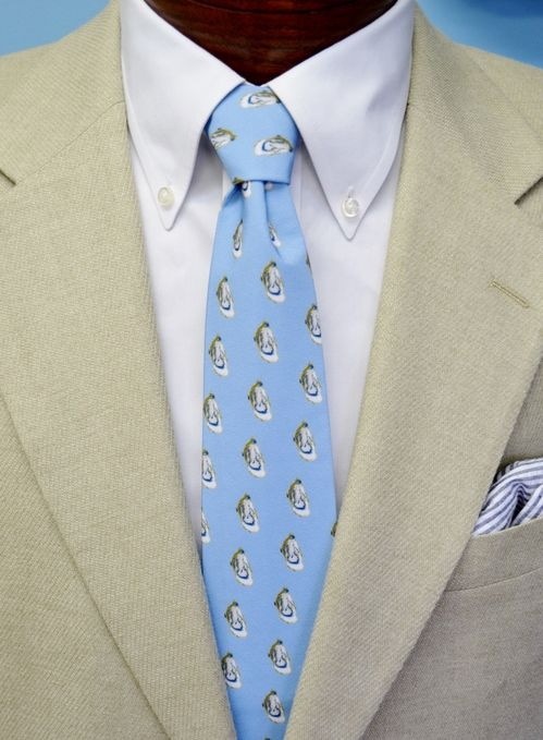 oyster shell tie