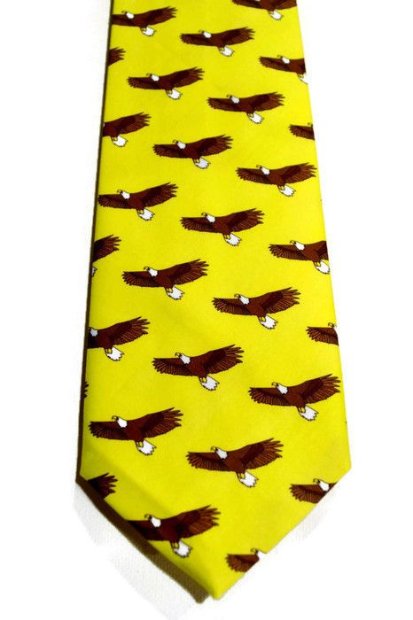 Eagle yellow tie