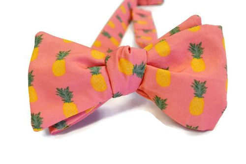 pineapple bow tie
