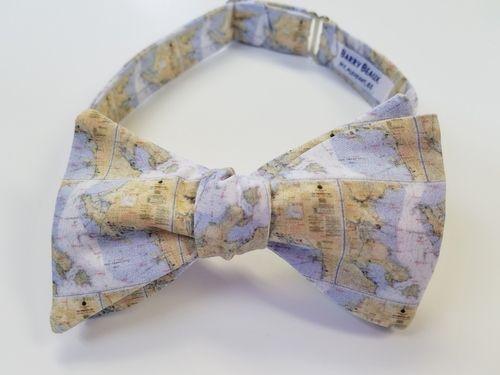 San fran map bow tie