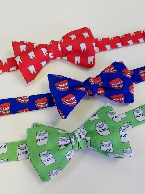 dental themed bow ties