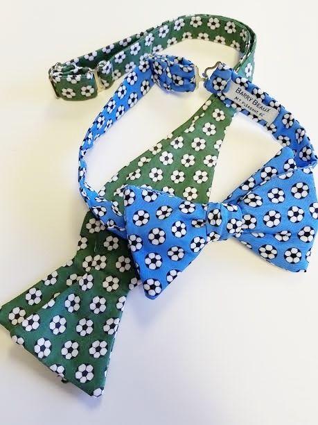 soccer ball bow tie