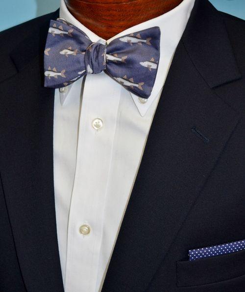 snook fish bow tie