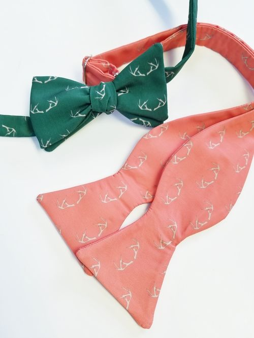 antler bow tie