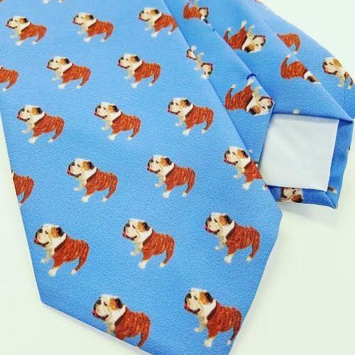 bull dog tie