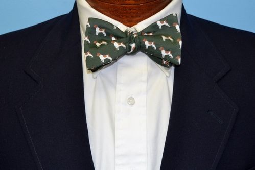 jack russell bow tie