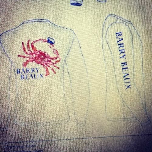 crab drifit shirt