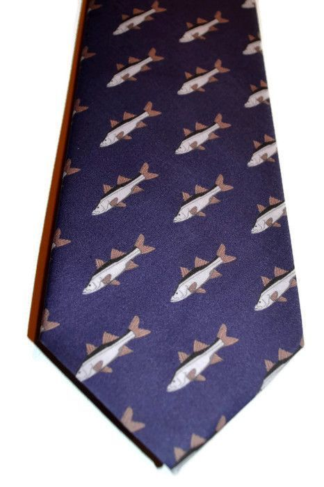 Snook Fish Tie