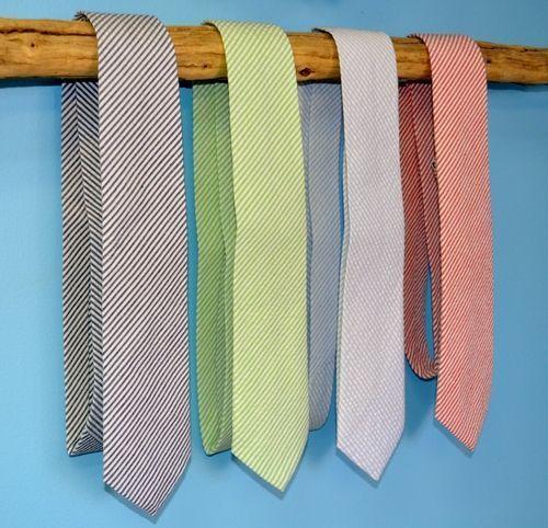 seersucker neckties