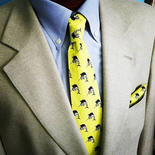 fish necktie