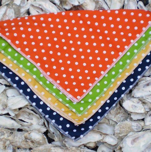 Polka dot pocket squares
