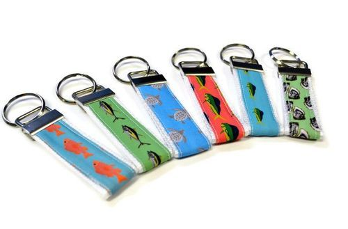 coastal key chains