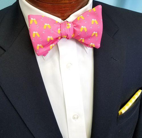 mimosas bow tie