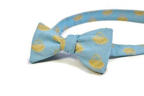 sweetgrass basket bow tie
