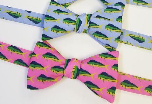 mahi mahi fish bow ties