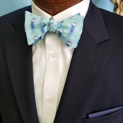 jellyfish bow tie