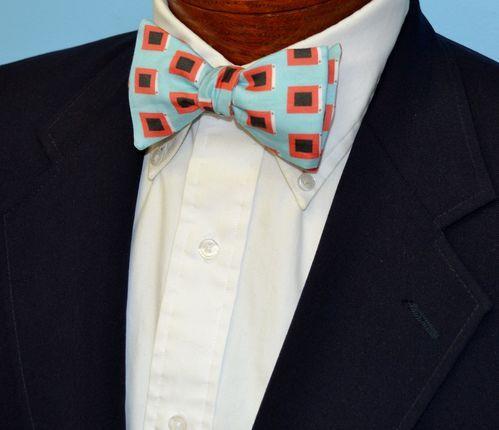 hurricane flags bow tie